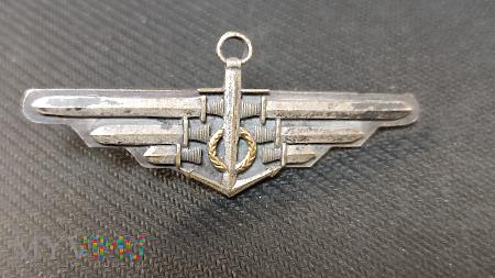 Rzadka odznaka Pilota Morskiego z wianuszkiem