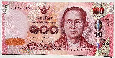 TAJLANDIA 100 baht 2015