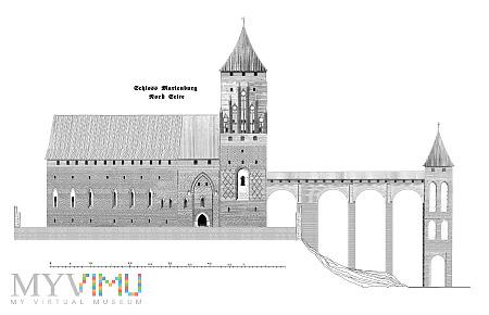 Pierwsze murowane zamki konwentualne. Bałga