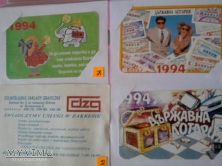 Kalendarzyki 1994
