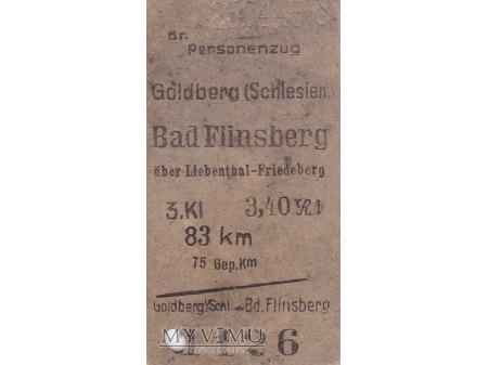 Duże zdjęcie Goldberg-Bad Flinsberg uber Liebenthal Friedeberg