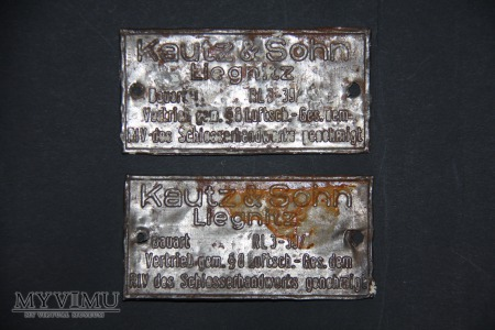 Niemieckie Tabliczki