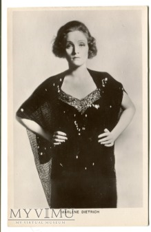 Duże zdjęcie Marlene Dietrich Picturegoer nr 528