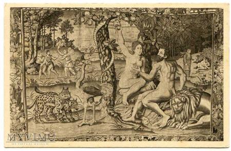 Kuszenie (Ewa zrywa jabłko)