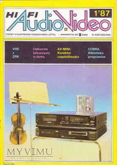 AUDIO Hi-Fi VIDEO 1987 rok, cz.I