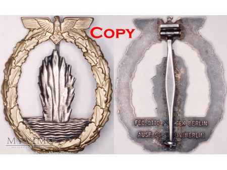 Duże zdjęcie Odznaka dla Załóg Trałowców \ Eskortowców