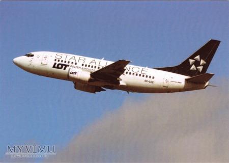 Boeing 737-55D, SP-LKE