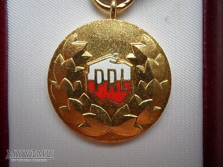 Medal Zasłużony Pracownik Państwowy P.R.L