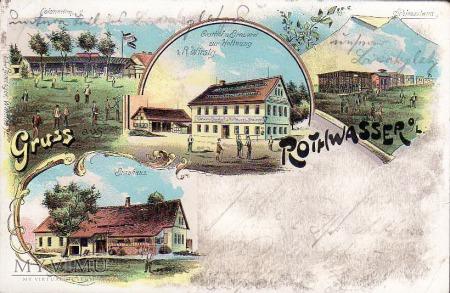 Butelka Rothwasser o/L. - Czerwona Woda