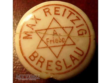 A.Friebe -Breslau -Wrocław-rozl.Max Reitzig