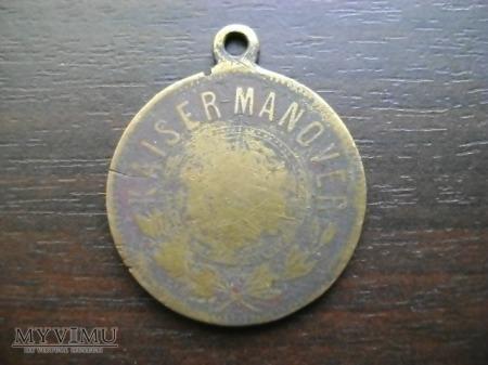 pruski medal Kaiser-Manover