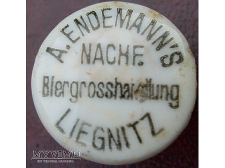 Duże zdjęcie A.Endemann Biergroshandlung Liegnitz