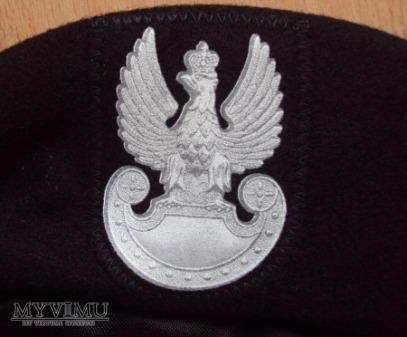 Beret czarny WP