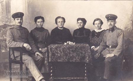 Żołnierze z rodziną - Mirsk