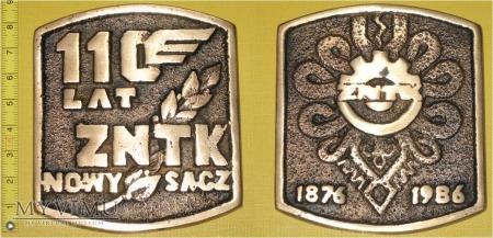 Medal kolejowy - firmowy ZNTK Nowy Sącz