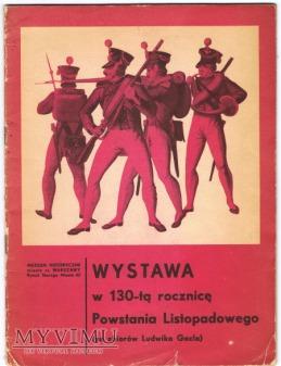 Wystawa w 130-tą rocznicę Powstania Listopadowego
