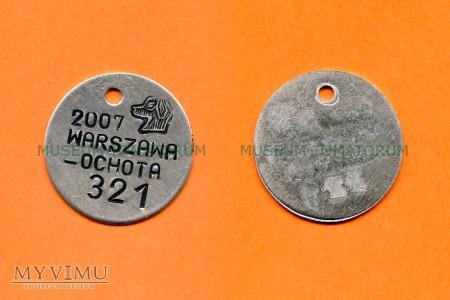 Duże zdjęcie Psi numerek - Warszawa - 2007