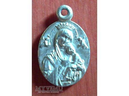 Medalik z Matką Bożą Nieustającej Pomocy
