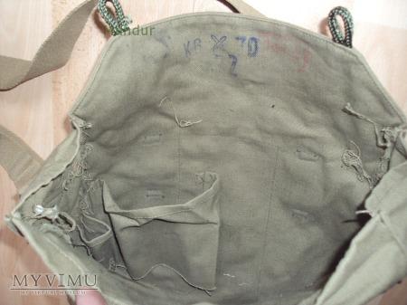 Chechosłowacka torba na maskę przeciwgazową