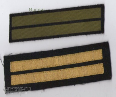 Dystynkcje do munduru wyjściowego MW - mat