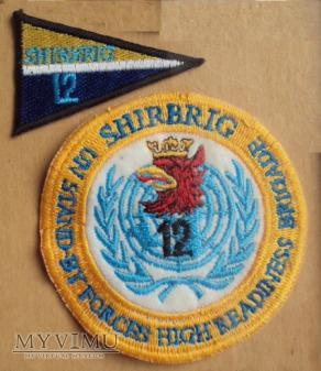 Oznaka 3 batalion piechoty zmotoryzowanej SHIRBRIG
