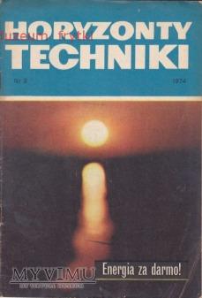 Duże zdjęcie HORYZONTY TECHNIKI 1974 r. nr.3