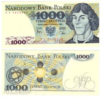 1000zł 1982r.