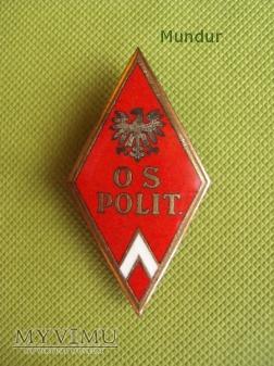 Odznaka Oficerskiej Szkoły Politycznej