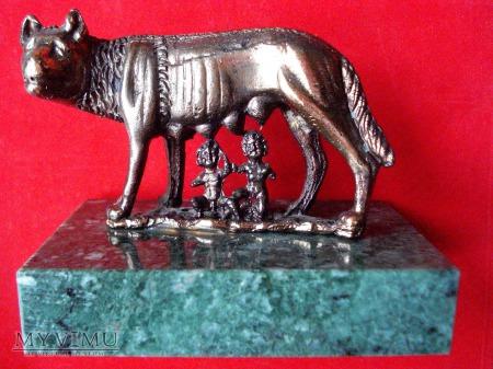 Duże zdjęcie Miniatura wilczycy kapitolińskiej / Włochy