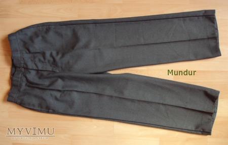 Szwajcarski mundur gabardynowy - spodnie