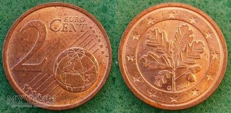 2 EURO CENT 2007 G