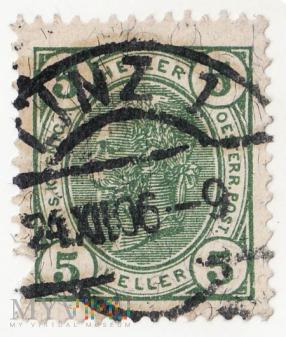 AUSTRIA 1904 5 heller