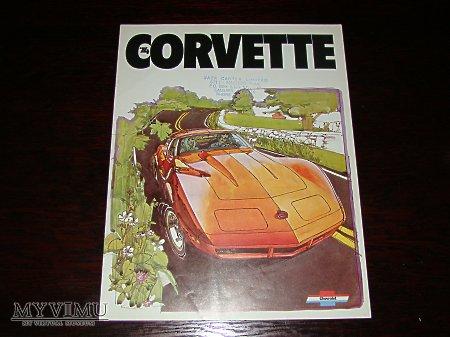 Prospekt CHEVROLET CORVETTE 1974