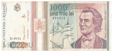 Rumunia - 1 000 lei (1993)