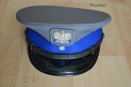 Czapka młodszego aspiranta Policji