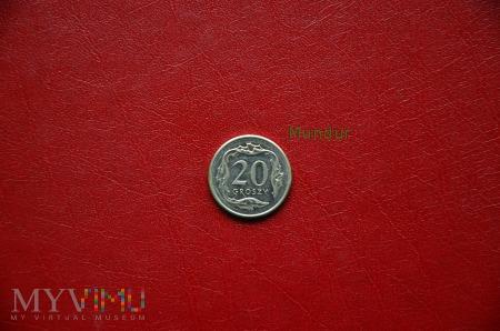 Moneta: 20 groszy od 1995r.