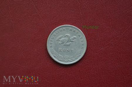 Moneta chorwacka: 2 kune