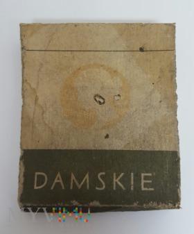 Papierosy DAMSKIE 1965r 20 szt. Cena 3.40 zł