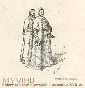 Gerson - Ubiory szlachty litewskiej z XVII w.