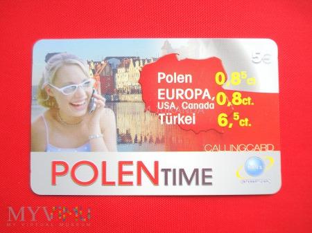 Karta Polen Time
