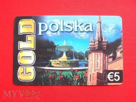 Karta GOLD polska