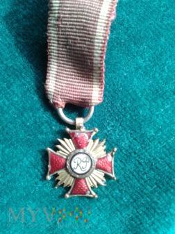 Miniaturka Krzyży Zasługi RP