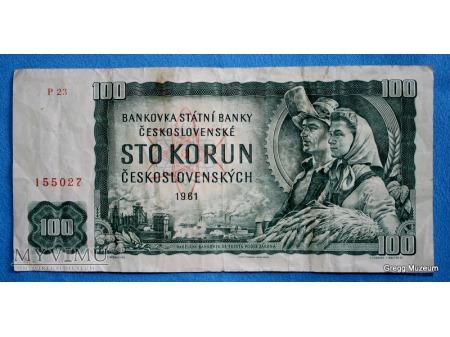 100 Koron 1961