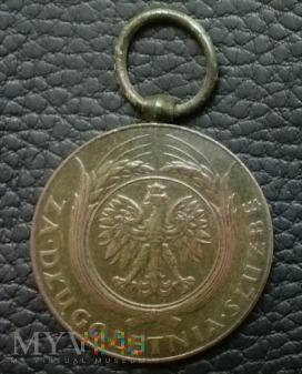 Medal ZA DŁUGOLETNIĄ SŁUŻBĘ X (lat)