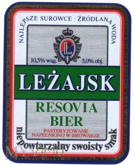 Duże zdjęcie Leżajsk RESOVIA BEER