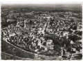 Avranches - widok z lotu ptaka - lata 50-te