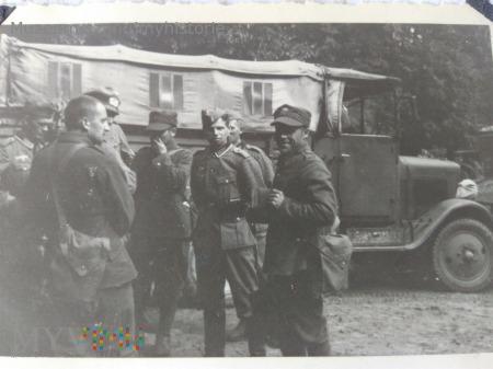polscy jeńcy Szepietowo 1939