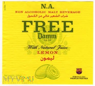 Damm Lemon Free