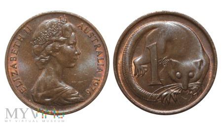 Australia, 1 cent 1976