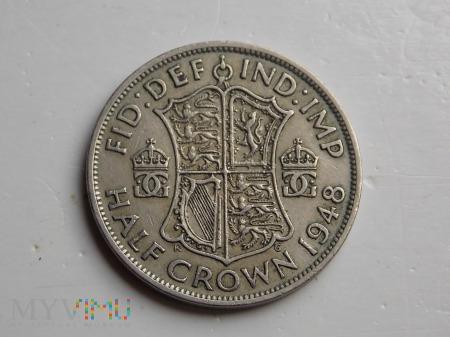 1/2 korony-WIELKA BRYTANIA -1948